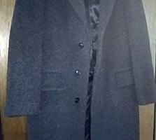Пальто мужское и мужская полудубленка.