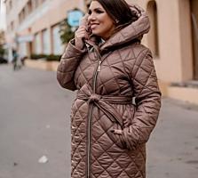 Пальто женское цвет какао