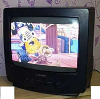 Дёшево продам хорошо работающий TV Samsung (малыш) CK-14F1VR (37 см)
