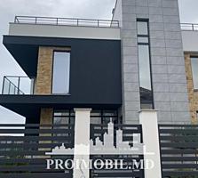 Vă propunem această casă în stil Hi-Techcu 3 nivele, Rîșcani, str.