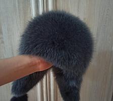 Продам новую шапку с натуральным мехом