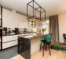 Vă propunem spre chirie cu 3 camere apartament excepțional situat ...