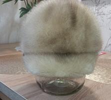 Продам женскую норковую шапку 56-57 размер 500 рублей Отл. состояние.
