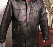 Мужские куртки и плащ, все кожа италия
