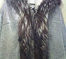 Продаю полушубок (куртку), размер 46-48, натуральный мех, дешево