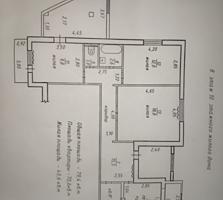Продам 3-ех комнатную квартиру у Городского стадиона