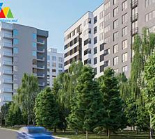 Sec. Rîșcani! SkyHouse! Apartament 2 camere. Pretul: 42.750€