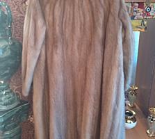 Шуба норковая в идеальном состоянии 46-48 размер270е
