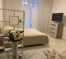 Красивая 1 комнатная квартира с ремонтом, мебелью и техникой в Аркадии