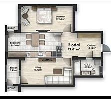 Se oferă spre vânzare apartament cu 2 camere, amplasat în sectorul ...