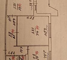 Продам 2-комнатную квартиру с выходом на Набережную Днестра