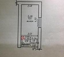 Комната в общежитии в Шелковом