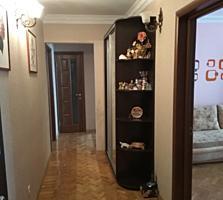 """3-комнат. 4/9 эт. Евроремонт, техника, мебель. Район """"Причерноморья"""""""