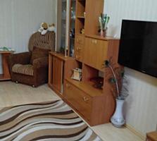 Отличная однокомнатная квартира с ремонтом, мебелью, техникой!! Центр