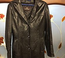 Продам Кожаную женскую куртку