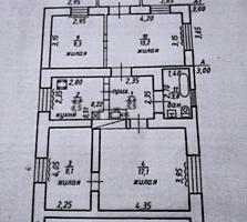 Дом Кировский- центр. 4 комнаты, удобства в доме, 6 соток, гараж Торг.