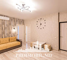 Vă propunem acest apartament cu 2 camere + living, sect. Buiucani, .