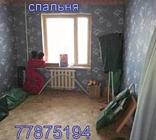 Продается 3-комнатная, переулок Западный, 2/9, под ремонт.