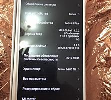 Продам телефон срочно Сяоми редми 5 плюс двух стандарт
