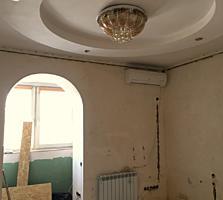 2-комнатная квартира, белый вариант, сделано ВСЁ.