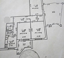 БАМ 3-к кв. 4/9 76/41/6,6 балкон 5,3 и переходная лоджия 23,6