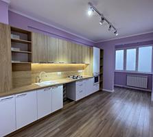 Casa Noua! Apartament cu odaie cu reparatie! Pardosea caldă! Garderobă