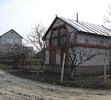 Продается дачный участок с домом с мансардой и хозблоком