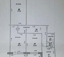 Выгодно 3-к кв. в новом доме 7/9 71/43/6,6 три балкона по 4,5 м2
