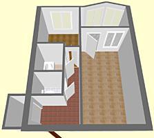 Продается большая однокомнатная квартира на Балке, дом №34/4, 5/9.