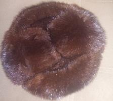 Продам шапку норковую, натуральную состояние новой вайбер!!!