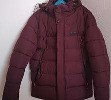 Фирменная мужская теплая куртка