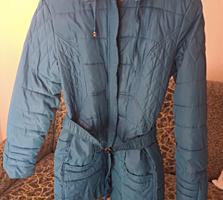 Продам голубую куртку