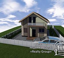 Земельный участок с фундаментом + проект дома