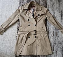 Оригинальное пальто Burberry Размер S