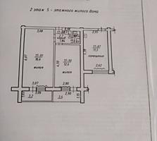 Продам 2-ком. блок +комната под кухню 2/5 Хомутяновка г. Бендеры.