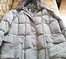 Новый пуховик, пальто, дубленки. Размер52-56.
