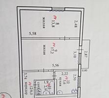Продам 2-комнатную квартиру в парковой зоне, 4 этаж