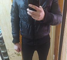 Продам черную куртку дешево