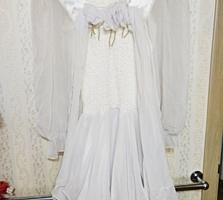 Продается новое выпускное белое платье. Производство: Италия