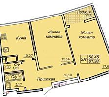 Продам 2-х комн квартиру на Каманина, 27 Жемчужина Аркадия