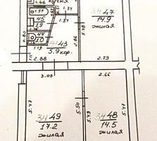 ЦЕНТР 3-к жилая квартира 2/5 63/47/6,8 балкон 2,6 кв. м.