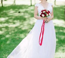 Продам шикарное свадебное платье трансформер