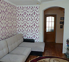Продается отличая квартира с евроремонтом. Частично мебель.