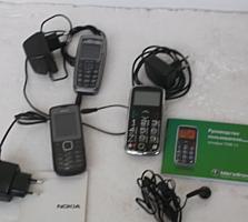 Б/у телефоны кнопочные, смартфон.
