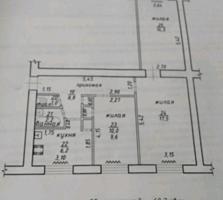 Продается 3-ком. квартира на Красных Казармах в Тирасполе