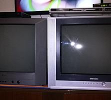 Продам телевизоры Самсунг и КЕС размеры экрана 42х32 см. с пультами по