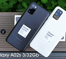 Samsung Galaxy A02s 3/32, 4G VoLTE. НОВЫЕ. Гарантия, рассрочка!