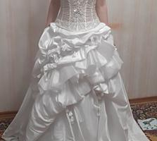 Свадебное платье французский бренд Miss Kelly, новое 400руб.