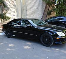 Merсedes-Benz S500 4Matic Long 2003г. обмен на авто российской регист.