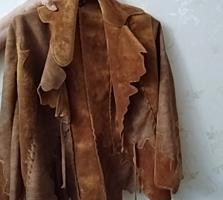 Продаю Модельную новую куртку, мягкий Плюш, под кожу, размер 44-46